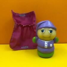 Vintage Glo Friends Glo Worm & Sleeping Bag Playskool Toy Figure 1980s
