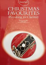 Christmas Favourites Playalong (Clarinet) 10 Classic songs (Guest Spot series)