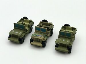 Micro Machines Military Combat Jeep Lot