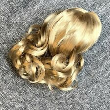Replacement Wigs For 18'' American Girl Doll Caroline Blond Curly Hair Parts Toy