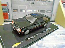 OPEL Chevrolet Monza Ascona C Hatch S/R 1986 IXO Altaya Sonderpreis SP 1:43