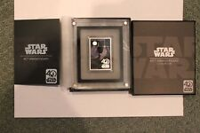 2017 Star Wars 40th Anniversary Poster coin .999 fine silver bar  new coin NEW