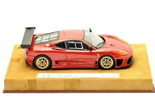 BBR IDEA 1/24 Ferrari 360 Challenge N/GT Red - Schedoni Modena leather kit no 43