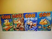 Gon Vols. 1-4 by Masashi Tanaka CMX Manga Graphic Novel Comic Book in English