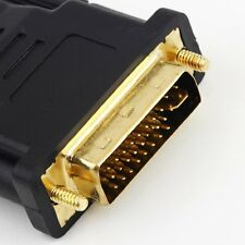 DVI Male to HDMI Adapter Golden-Plated Converter Support For HDTV 1080P LCD DY