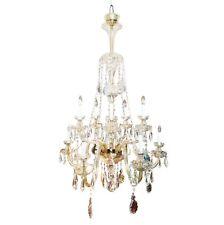 Large italian antique chandeliers fixtures ebay a monumental large italian crystal antique chandelier aloadofball Images