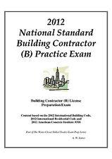 2012 National Standard Building Contr. (B)  Practice Exam on USB Flash Drive