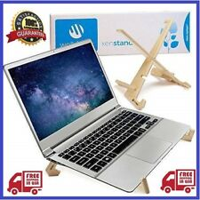 Deluxe Laptop Stand for Desk, Foldable + Adjustable Lap Top Computer & Notebook