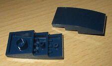 Wedge Dachstein Lego 2 St 2x8x2 in Dunkel Blau 41766 Schrägstein