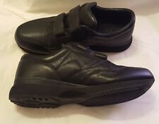 Propet Mens Shoes Size 15 Black Leather With Adjustable Straps