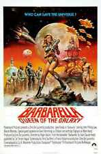 Barbarella Poster 04 A2 Box Canvas Print