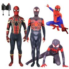 Spider-Man Homecoming Iron Spiderman Costume Halloween Party Cosplay Kids Adult