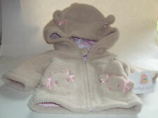 Starting Out Tan Bear Coat with Hood 3M NWT