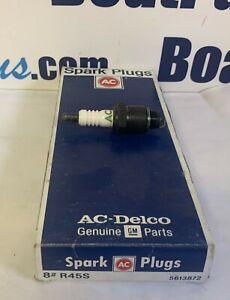 AC-Delco R45S Spark Plugs 8 Pcs