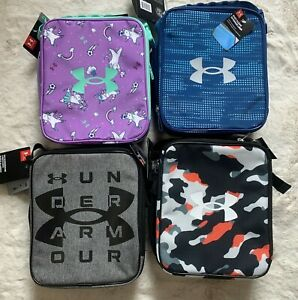 NWT Under Armour Thermos Clean Insulated Lunch Box w/ Side Thermos Pocket