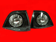 BLACK INDICATORS FOR THE E36 3 SERIES COUPE & CONVERTIBLE CABRIOLET 2 DOOR V2