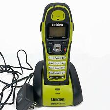 Uniden DWX207 Sumergible Impermeable Teléfono Inalámbrico DECT 6.0 & Base de carga