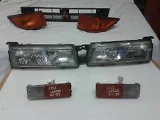 MITSUBISHI COLT LANCER GTi 4x4  job lot : HEAD, REAR + SIDE LIGHTS GRILLE  retro