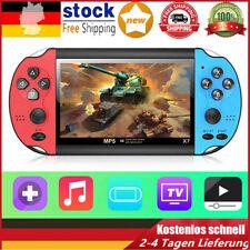 X7 8GB Handheld Spielkonsole 3000 Spiele MP4 Kamera 4.3