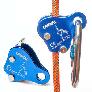 Rock Climbing Ascender Arrest Protection Belay Device Self-Locking Rope Grip