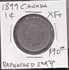 CANADA - FANTASTIC HISTORICAL QV ONE CENT, 1899
