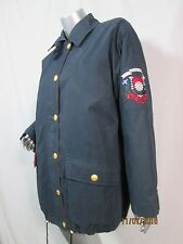 Escada Margaretha Ley Winter Coat Jacket Blue Sport Warm & Thick & Cozy