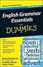 English Grammar Essentials for Dummies (Paperback or Softback)