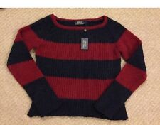 Ralph Lauren Wool Knitted Sweater Stripped Jumper Size S NEW RRP £150