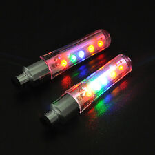 2x5 LED Hot Flash Light Bicycle Motorcycle Car Bike Tyre Tire Wheel Valve Lamp I