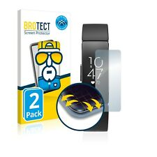 2x Cover Folie für Fitbit Inspire / Inspire HR Edge Screen Display Schutz