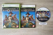 Civilization Revolution Xbox 360 - 1st Class FREE UK POSTAGE