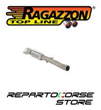 RAGAZZON TUBO ANTERIORE CON FLESSIBILE FIAT PANDA II 169 1.4 16V 100HP 10/2006->