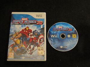 WII : MARVEL SUPER HEROES 3D : GRANDMASTER CHALLENGE - ITA ! Comp U