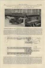 1925 Under Hung Travelling Jib Crane Vaughan Openshaw Kilindini