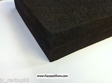 Motorcycle Race seat Foam Back, Bum stop pad, 40mm Thick, Self Adhesive