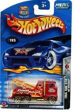 2003 Hot Wheels #195 Final Run Rig Wrecker 0711 card