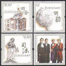 Hong Kong 2008 Law/Order/Judiciary/Buildings/Justice/Judges 4v set (n36547)