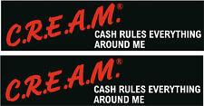 CREAM Wu-Tang Clan JDM Decal Sticker