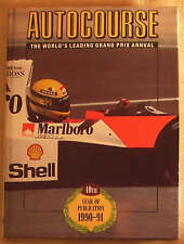 AUTOCOURSE Grand Prix F1 Rally Annual Book 1990 - 91