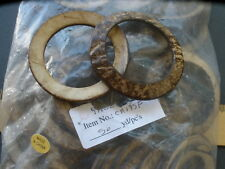 "140 Coconut Shell O-Rings macrame 45Mm 1.75"" opening round sarong purse 2.5"""