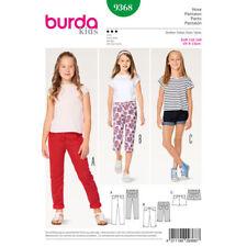 Burda Kids SEWING PATTERN 9368 Girls Jeans/Trousers/Shorts Age 6-13