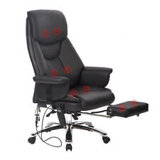 New Executive Office Massage Chair Vibrating Ergonomic Computer Desk Chair 383