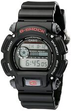 Casio Men's DW9052-1V G-Shock Black Stainless Steel and Resin Digital WristWatch