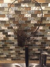 Rare Vintage 1910's Take Apart Landing Net With Handle & Collapsable