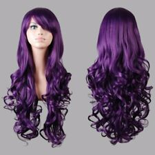 Women's Long Hair Full Wig Curly Straight Wigs Party Costume Anime Cosplay SL