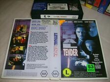 Vhs *LETHAL TENDER* Rare 1996 Home Cinema Group Issue Gary Busey Action Thriller