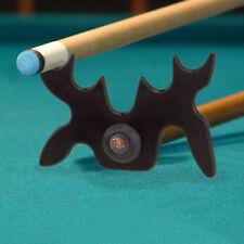 2 x Moose Head Pool Billiard Snooker Cue Stick Rest Bridge 9 Slip-On Spider Bat