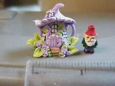 Ooak Fairy/Hobbit/Elf/Gnome House Home Handmade Miniature Clay Tiny Teapot #2
