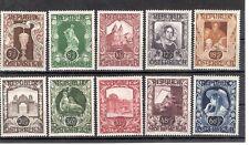 Ö 1947 Österreichische Kunstausstellung Postfrisch ** MNH ANK 827 - 836