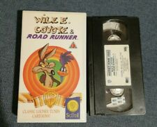 VHS FILM Ita Animazione WILE E.COYOTE & ROAD RUNNER looney tunes 1990